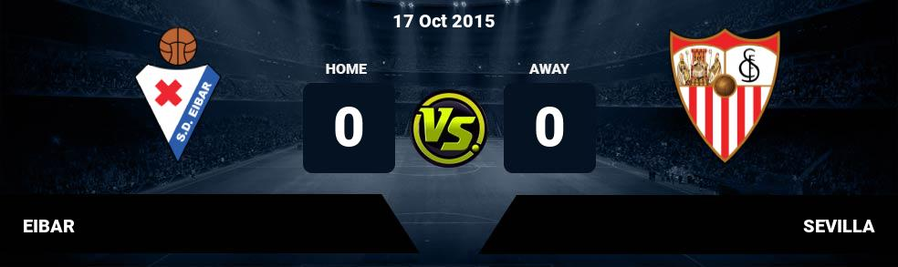 Prediksi EIBAR vs SEVILLA 29 Sep 2018