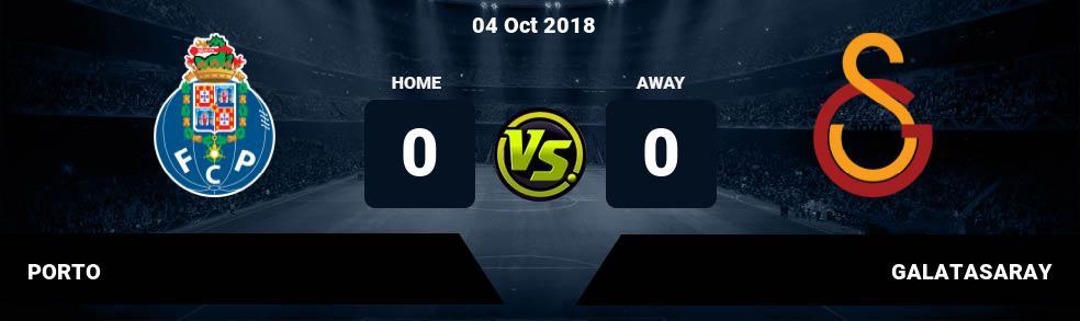 Prediksi PORTO vs GALATASARAY 04 Oct 2018